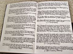 The Commonplace Book.  I really need to keep one of these.