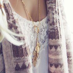 Tangled Aspen Necklace