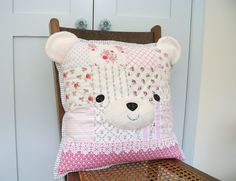 Sweetly Stitched Sew-a-Long - Round Three | Polar Bear Pillow