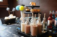 Chocolate milk - perfect for the kids at the party:)