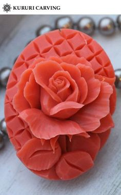 carved soap Soap Making Recipes, Soap Recipes, Soap Sculpture, Buffet Set, Decorative Soaps, Soap Carving, Watermelon Carving, Food Garnishes, Soap Molds