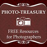 Photo-treasury  - Free resources for photographers. Free actions, templates, webinars, presets, business resources and more