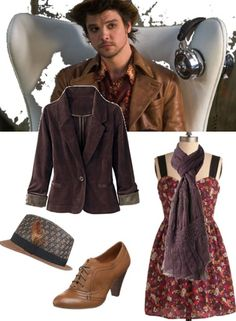 Hatter is one of the few male TV characters out there whose style can be easily translated into a cool look for females. Pair a patterned dress with a structured blazer and oxford shoes for a posh menswear look.
