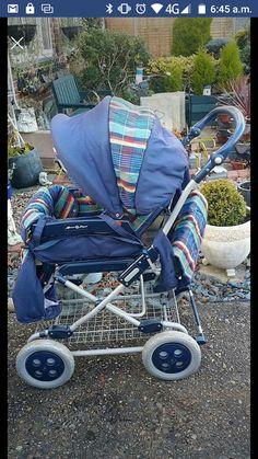 Vintage Pram, Prams And Pushchairs, Baby Prams, Baby Carriage, Little Sisters, Baby Strollers, Children, Kids Wagon, Kids
