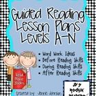 Not sure what to teach during Guided Reading? These plans can help you plan for word work, strategies, and comprehension at each Guided Reading Level Guided Reading Lesson Plans, Guided Reading Levels, Reading Skills, Kindergarten Reading, Teaching Reading, Learning, Small Group Reading, Education And Literacy, Reading Comprehension