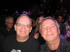 Wil and myself(Flemming) at Anneke's Concert in Tilburg Sep.28,2015