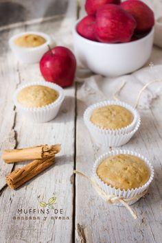 Muffins de manzana y canela chokolat pimienta