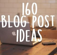 Stuck in a rut? Here are 160 blog post ideas ranging from beauty-lifestyle-fitness-financial-adventures! staywithmeonthis.com