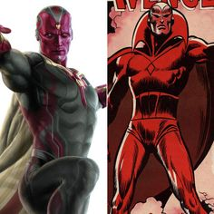 Vision - The Avengers' First Comic Book Appearances - Photos