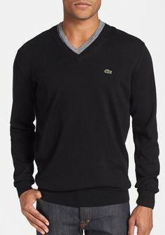 Cotton V-Neck Sweater from Nordstrom.  Get your rebate from RebateBlast.