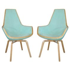 So in love // Pair of Giraffe Chairs by Arne Jacobsen, Denmark 1950's