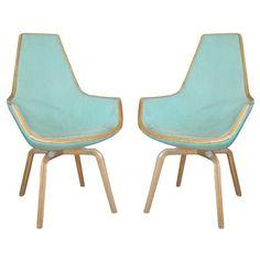 So in love // Pair of Giraffe Chairs by Arne Jacobsen, Denmark 1950's