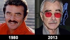 It's frightening what a few years can do.  I still think of Burt as the guy from 1980, but 33 years is BRUTAL!
