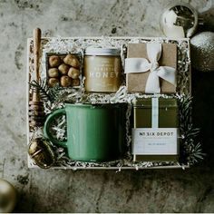 DIY Personalized Gift Baskets DIY Personalized Gift Basket For Anyone, Girlfriend, Kids, Mom Etc - Owe Crafts Christmas Gift Baskets, Diy Christmas Gifts, Holiday Gifts, Xmas, Corporate Gift Baskets, Corporate Gifts, Tea Gifts, Baby Gifts, Baby Presents