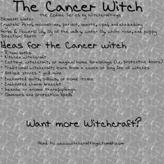 the cancer witch
