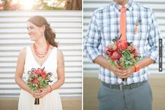 quirky orange & red bouquet | CHECK OUT MORE IDEAS AT WEDDINGPINS.NET | #weddings #weddingflowers #weddingbouquets #bouquets