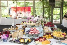 High Tea Styling - The Pavilion Fitzroy Gardens