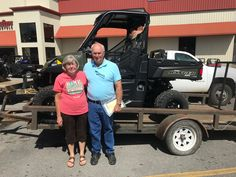 Congratulations to Jean and John Adcock from Morton, MS for purchasing a 2017 Polaris Ranger XP 1000 from Hattiesburg Cycles. #polaris