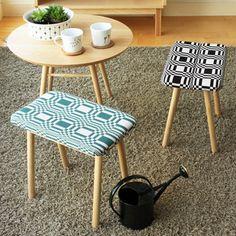 Nordic interior stool