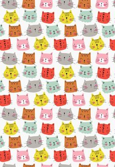 Cats Wallpaper Iphone Pattern Kitty 58 Ideas For 2019 - Cats -♡- Cat Wallpaper Cartoon Wallpaper, Cats Wallpaper, Cat Pattern Wallpaper, Iphone Wallpaper, Cat Background, Background Drawing, Comic Cat, Cat Comics, Image Cat