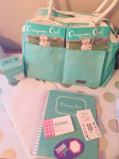 Origami Owl Car Kit  or Catalog Party. Pack your TOMS, business cards, discount/free charm cards, take out box.  Keep it in your car for your on-the-go business