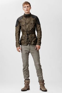Belstaff | Spring 2014 Menswear Collection | Style.com