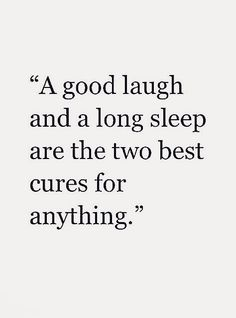 Especially a good laugh! The laugh where you can barely breathe and your stomach cramps up. Those are the best laughs ❤️