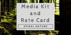 2018 Spiral Nature Media Kit and Rate Card Cover