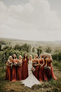 Bridesmaid Dresses, really amazing dress example number 6340234718 - Simply exquisite dress information. In need other super incredible suggestions? Please check the pinned image 6340234718 immediately. Autumn Wedding, Boho Wedding, Dream Wedding, Fall Wedding Colors, October Wedding, Wedding Flowers, Fall Bridesmaid Dresses, Wedding Dresses, Burnt Orange Bridesmaid Dresses