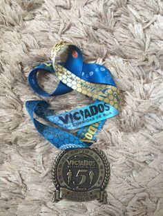 """Medalha Encontro """"Viciados"""" 2015. RUN to Live. Live to RUN!!"""