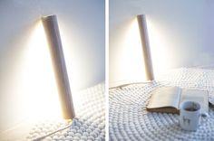 lampe baladeuse en bois création DIY