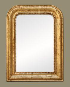 Miroir ancien epoque napoleon iii xixeme a parcloses en for Miroir ancien louis philippe
