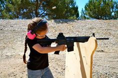 This will totally be out daughter with daddy's AR-15.