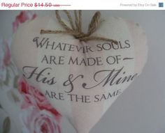 Christmas Sale Whatever souls are made of His by Thelavenderhutcom, $13.05