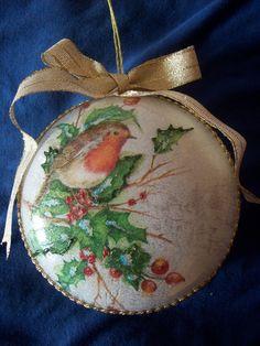 Per l'albero - For Christmas tree.