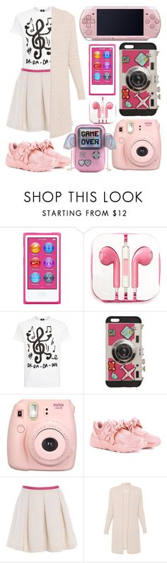 """""""My everlasting love"""" by bettysilver ❤ liked on Polyvore featuring Apple, PhunkeeTree, PS Paul Smith, Sarina, Fujifilm, Puma, electronic, MyTrueLove and myfavoritegadget"""