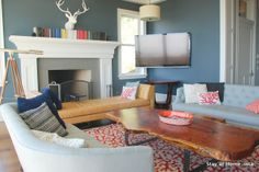 Stay at Home-ista: Living Room