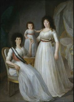 1797 The Athenaeum - The Duchess of Osuna, her daughter and granddaughter (Agustín Esteve y Marqués - )