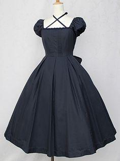 Victorian maiden Bustle Long Dress
