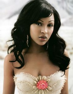 Meagan Good started career at the age of four, Good has appeared in numerous commercials, television shows, feature films, and music videos. Most Beautiful Faces, Beautiful Black Women, Beautiful People, 1990 Style, Megan Good, Sexy Ebony Girls, Actrices Hollywood, Glamour Shots, Ebony Beauty