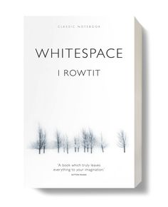 WHITESPACE The essence of a white Christmas. Designers are happy to play with it, clients unhappy to pay for it – a book full of it! One recipient saved it to read on holiday! White Christmas, Christmas Time, Creative Design, Identity, Creativity, Designers, Branding, Holidays, Play
