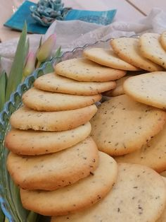 Earl Grey keksz - MaiMóni Earl Gray, Sweet Cakes, Biscuits, Potatoes, Sweets, Cookies, Vegetables, Grey, Food
