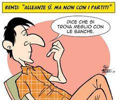 Ognuno si sceglie gli #amici che gli sono congeniali… #Pd #Renzi #PrimariePD #renzisegretario