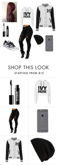 """""""😍🔐"""" by nmcneil-nm ❤ liked on Polyvore featuring Ardency Inn, Topshop, Rick Owens and Converse"""
