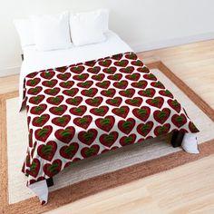 """Mehr als die Liebe"" Tagesdecke von Herogoal | Redbubble Comforters, Blanket, Studio, Bed, Home, Etsy, Love, Creature Comforts, Quilts"