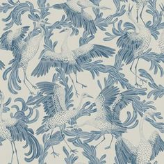 Dancing Crane 3650 - Eco Simplicity - Eco Wallpaper