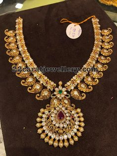 125 Grams Mango Necklace - Jewellery Designs