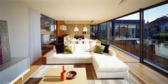 Ein stilvolles Haus in Australien stellt Ihnen großzügige Innenräume vor - http://wohnideenn.de/architektur/09/stilvolles-haus-in-australien.html #Architektur