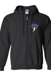 Anxiety Zip-Up Hoodie (Black)  you can get this at                                                             https://www.districtlines.com/ThomasSanders                           that's were all his official merch