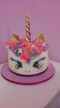Unicorn cake by Geri